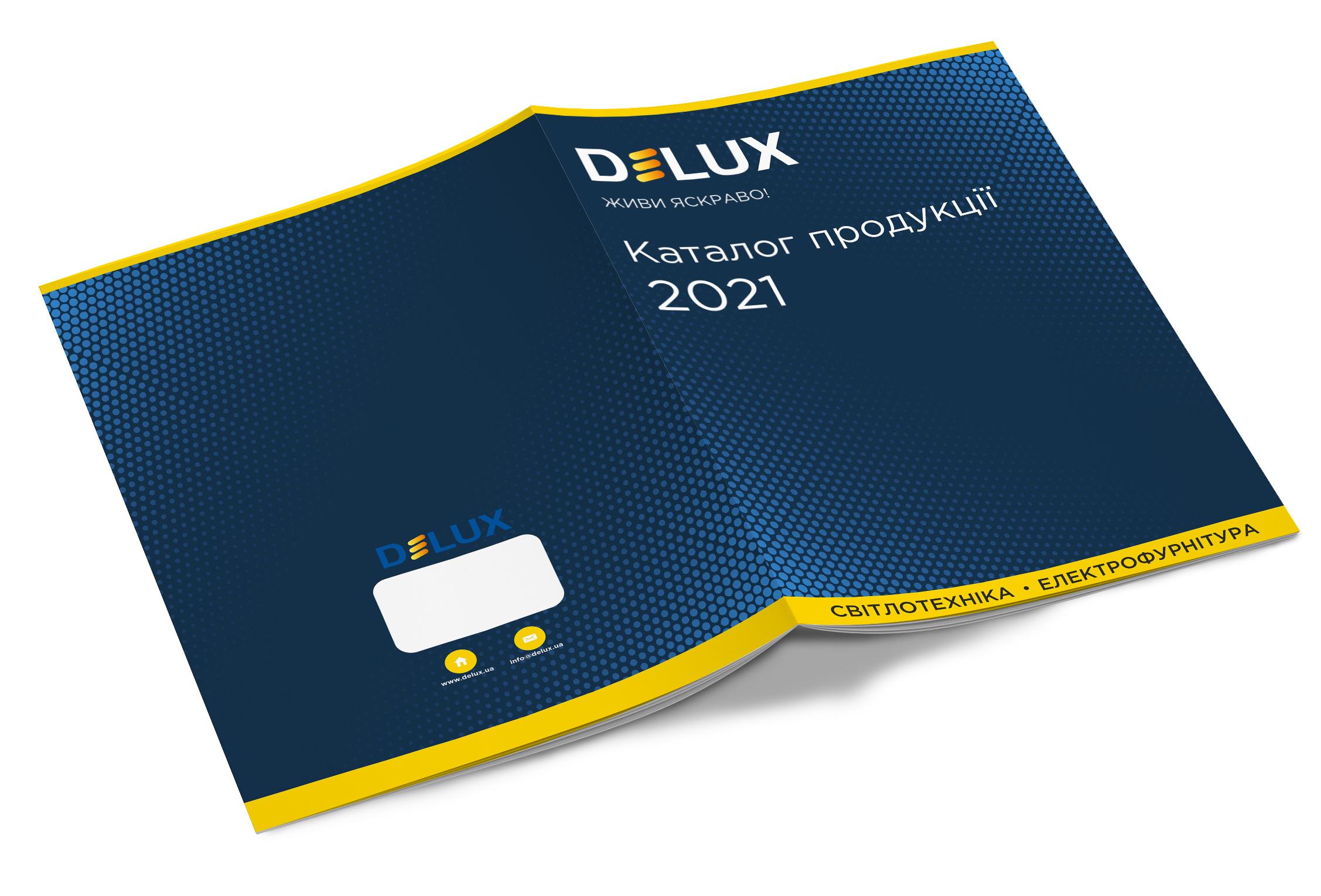 Kаталог продукції Delux 2021