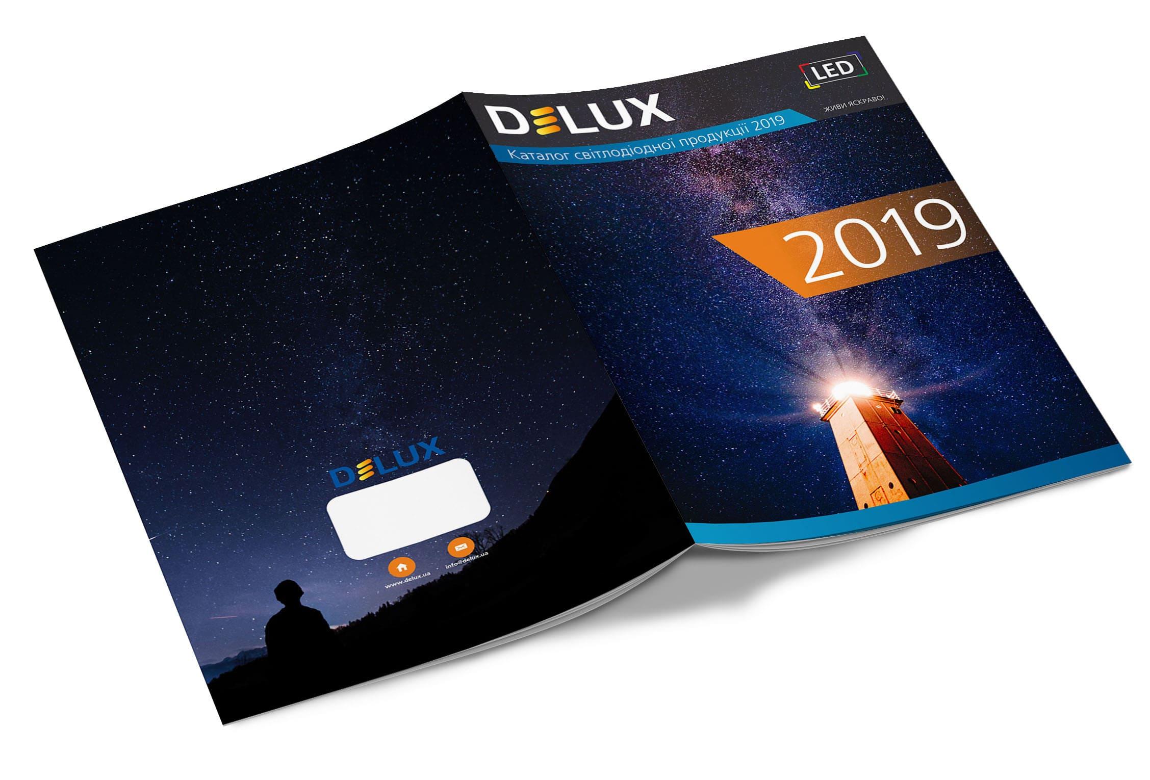 Kаталог светодиодной продукции Delux 2019