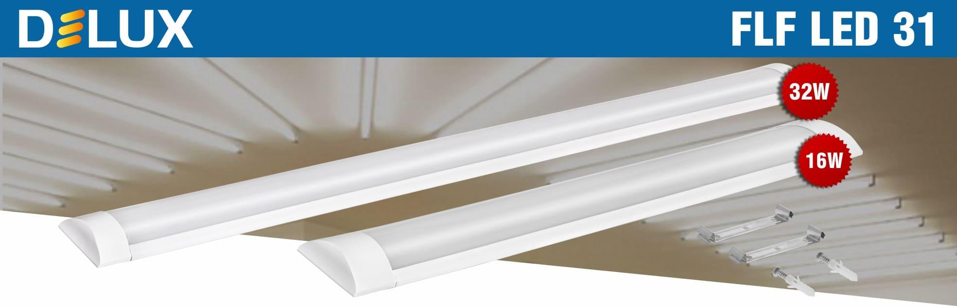 Світильники світлодіодні настінно-стельові Delux FLF LED 31